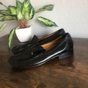 Mens Cole Haan Black Dress Slip On Loafers
